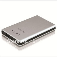 IT CEO U6820 5000 mah mobile power supply silver  durable