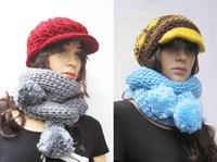 Iceland wool macrospheric scarf thick yarn scarf women's scarf