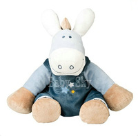 Noukies nocton donkey infant baby dolls plush toy safety dolls