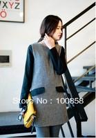 el1910 Latest Western Style Women Cartoon Fashion Unique Loose Knit Pullover Sweater