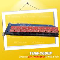 NEW TDM1600P FXO/FXS 16 port asterisk card TDM400P TDM410P TDM800P TDM2400P TE405 TE410 asterisk ip pbx
