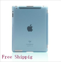 For New  iPad 2 3 4  Protective Skin Sleeve SC Partner Protection Shell Frosted  Rear Cover Free Shipping