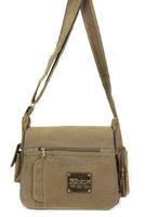 Free shipping(1 pcs) canvas vintage men's shoulder bag and crossbody Outdoor leisure bag
