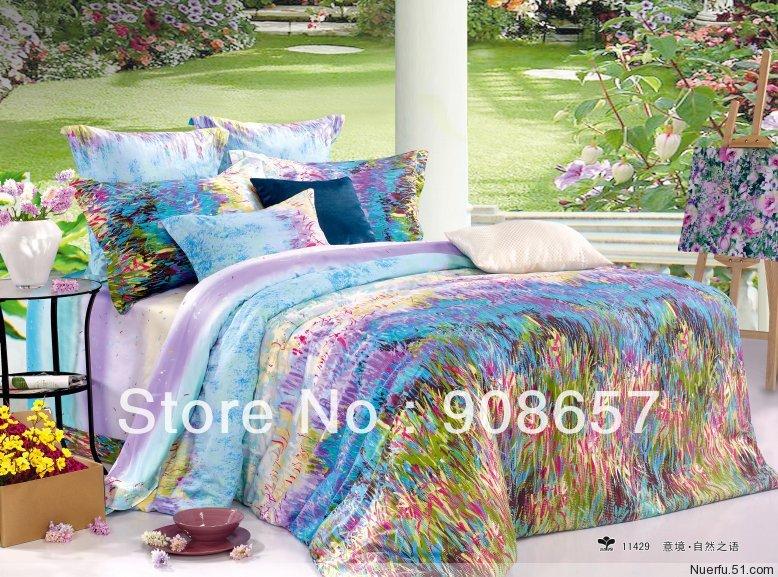 discount purple comforter sets full promotion online