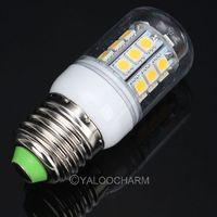 Hot Sale 2pcs E27 27SMD 5050 LED 5.5W Corn Light Bulbs LED Lamp AC Spotlighting 450 Lumen 80203