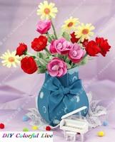 Handmade DIY Blooming florid bonsai,Polypropylene nonwoven fabric home decoration,Via free shipping