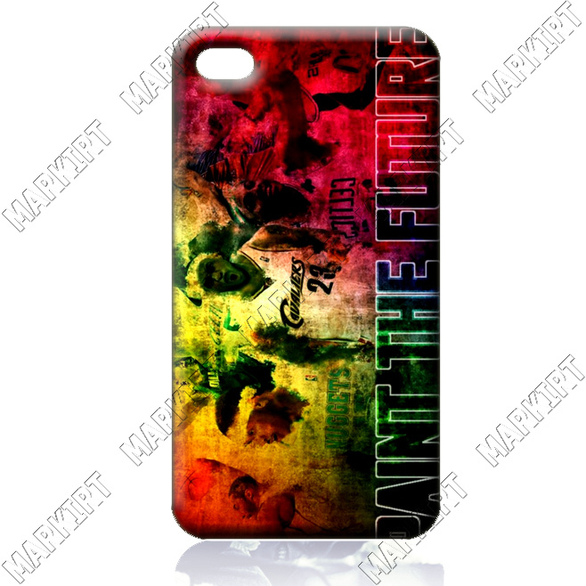 Paint The Future ILC2430 10 pcs/lot case cover for iphone 4 4s 4th generation wholesale retail free shipping for bulk order(China (Mainland))