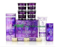 Retail Purple color yiqi Whitening cream 4 in 1 Effective In 7 Days face Cream anti freckle whitening cream face face