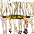 2013 fashion Sexy Tattoo Shock Sheer Tights Legging stocking pantyhose tight women bodystocking floral bandage print leggings