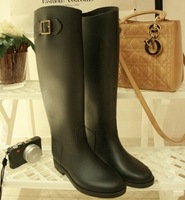 Free shipping!2013 fashion rainboots Vc riding boots star fashion tall boots  overstrung rubber shoes rain shoes water shoes