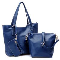 2013 winter genuine leather women's handbag women's cowhide handbag one shoulder mother bag large