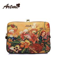 hot sale fashionable 2013 casual women's handbag print vintage bag messenger bag girl's day clutches Free Shipping