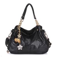 2013 women's handbag serpentine pattern one shoulder handbag cross-body bag