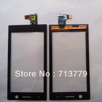 original touch screen for Sony Xperia U ST25 ST25i digitizer black (20pcs/lot) by shipping DHL,EMS