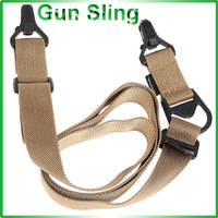 Newest Durable YP00043 Gun Sling Fits All Guns for Military Hunting and Airsoft (Khaki)
