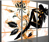 Handmade High End Large Sex Naked Girl Nude Oil Painting Canvas Wall Picture Modern Home Decoration