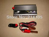 NEW 24v DC to AC 110v AC 1200W Mobile Car Power Inverter USB + Free shipping