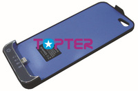 2200 mah external portable battery charger with lighting USB for iphone 5 with retail package