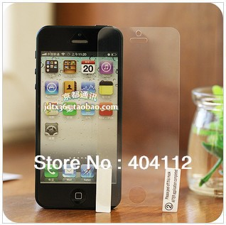 New Arrival Clear LCD Screen Protector for iphone 5 5G screen guard (front protector)