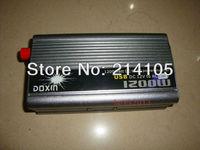 NEW 12v DC to AC 110v AC 1200W Mobile Car Power Inverter USB + Free shipping