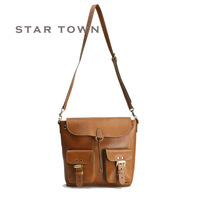 High quality first layer of cowhide women's winter one shoulder cross-body backpack - Women casual backpack