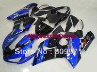 K182 Popular blue gloss black full Fairing for KAWASAKI Ninja ZX6R 636 2005 2006 ZX 6R 05 06 ZX-6R  05 06  2005 2006