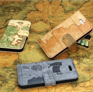 generation world map cell phone flip holster