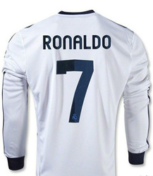 Ronaldo Kids Jersey Long Sleeve Cristiano Ronaldo Soccer Uniforms Real Madrid With Pants Soccer Jerseys Custom(China (Mainland))