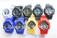 Drop Ship 5 pcs Men's sports G style watch ga 100 GA100 Watches Sport watch
