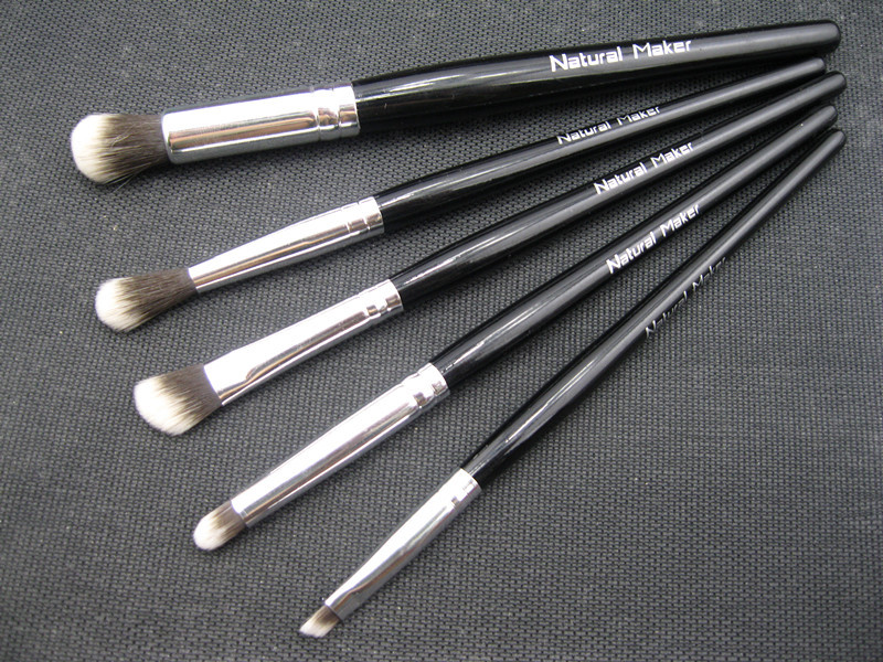 Cosmetic brush natural maker eye set brush eyebrow brush eye shadow brush(China (Mainland))