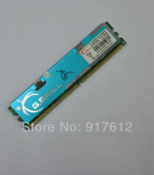 FREE SHIPPING G.SKILL 1GB 240-Pin DDR2 800 (PC6400) Desktop Memory with Heatspreater(China (Mainland))