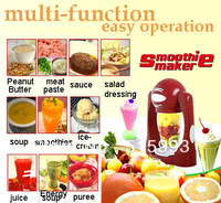 6set/lot wholesale electric smoothies/juice maker fastly make the fruit does not  lose the vitamins