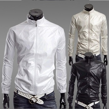 Free shipping 2013 new  fashion slim men's coats,men' thin trench,windbreak,waterproof, prevent bask in jackets