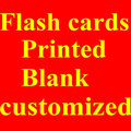 custom-made flash cards,math cards,birthday cards,post cards,christmas cards,OEM printing,free shpping EMS/FEDEX(China (Mainland))