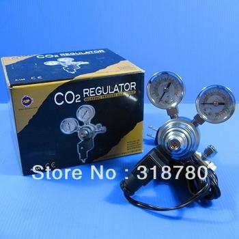 Aquarium CO2 Regulator Adjustable Pressure Solenoid  Magnetic Valve  Marine and Planted  NEW