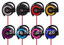 PQN Brand Spiral Fashional Earphone Stereo Cute Ear-pad Headphone for Mp3 Ipod+Free Shipping(China (Mainland))