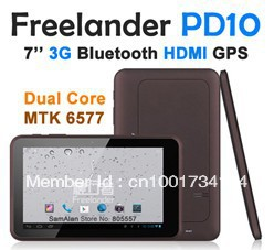 "original Freelander PD10 3G 7"" Android4.0 Tablet PC Dual Camera WIFI HDMI Built in 3G GPS Bluetooth Phone Call TNT is CN post"