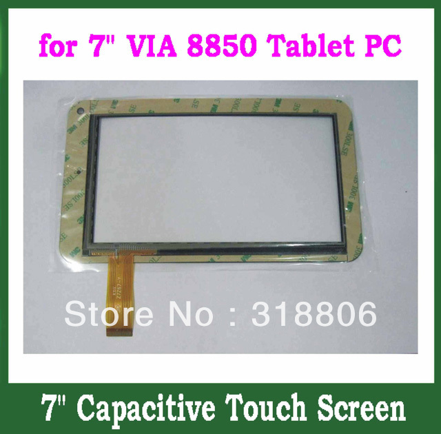 Replacement Capacitive Touch Screen with Glass Digitizer for 7inch