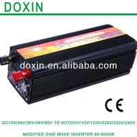 5000W  DC 24volt to AC 220volt  Modified Sine Wave Converter