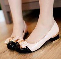 Free shipping high heel shoes thin heels fashion dress patent pu leather lady pumps dress women sexy P2779 size 34-43