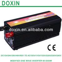 NEW HOT! High Capacity DC12v to AC 220V Power Inverter  5000watt