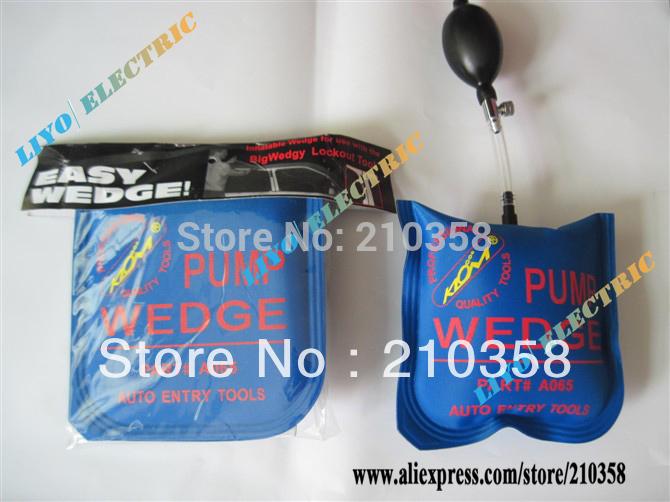 PUMP WEDGE Airbag (medium) ,New Universal Air Wedge,LOCKSMITH TOOLS,key cutter,lock pick,lock opener,pick gun,pick and decoder(China (Mainland))