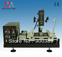 Wholesale ZHUOMAO ZM-R590 BGA Rework station  repair for laptop xbox360 PSP mobile with touch screen hot air infared heater