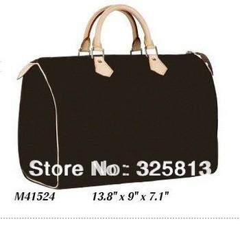 Wholesale Monogram Canvas M41524 SPEEDY 35 Women Lady Shoulder Hobo Tote Bags Designer Handbags