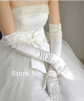 Свадебные перчатки Ostrich hair Bridal gloves Wedding Gloves fingerless gloves beautiful gloves retail wedding accessory