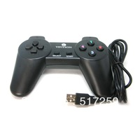 1PC Free Shipping Black New Wired USB 2.0 10 keys Game Controller Joystick Gamepad For PC Computer #EC033