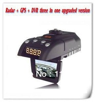 Free Shipping Original New conquerors GR-H8 +  Radar  Electronic dog + logger speedometer with a driving record images 3 IN 1