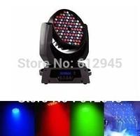 Hot!108pcs*3W RGB Tric Color LED Moving Head Wash Light Blue LCD display