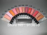 Best Selling 2013 Makeup!Makeup lipgloss LIP GLOSS With English Name 15ml (200 pcs) 15 colors ! Free shipping !