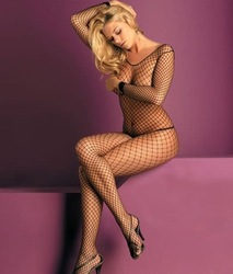 Free shipping sexy lingerie Sexy Women Sheer Lace Fishnet Halter Body Stocking Crotchless socks NO12(China (Mainland))